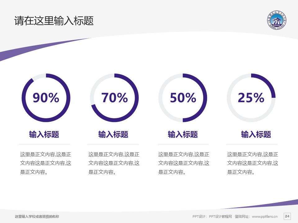 桂林师范高等专科学校PPT模板下载_幻灯片预览图24