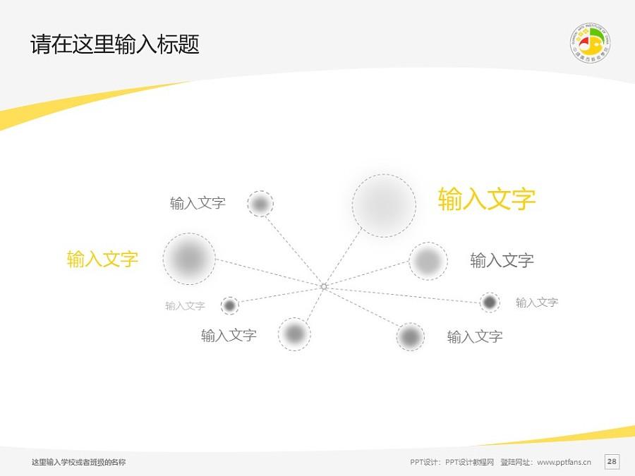 广西艺术学院PPT模板下载_幻灯片预览图28