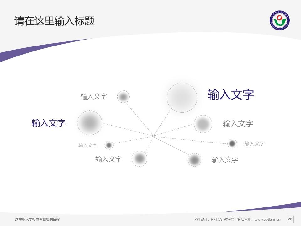 郑州理工职业学院PPT模板下载_幻灯片预览图28