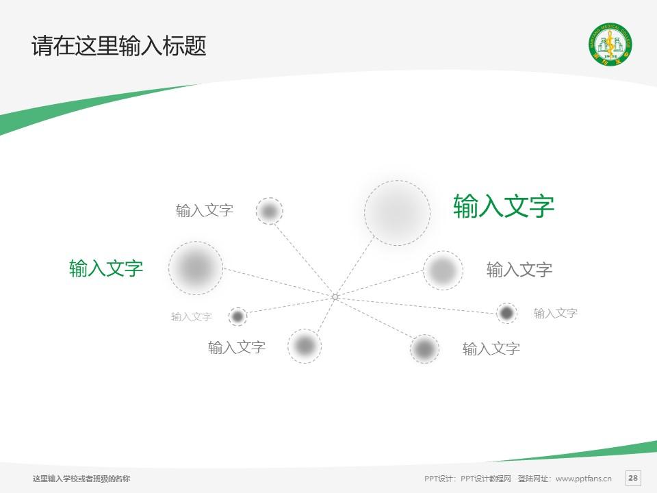 南阳医学高等专科学校PPT模板下载_幻灯片预览图28