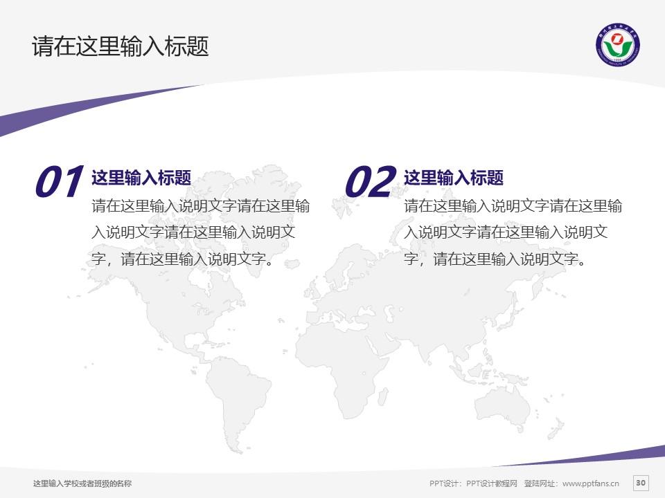 郑州理工职业学院PPT模板下载_幻灯片预览图30