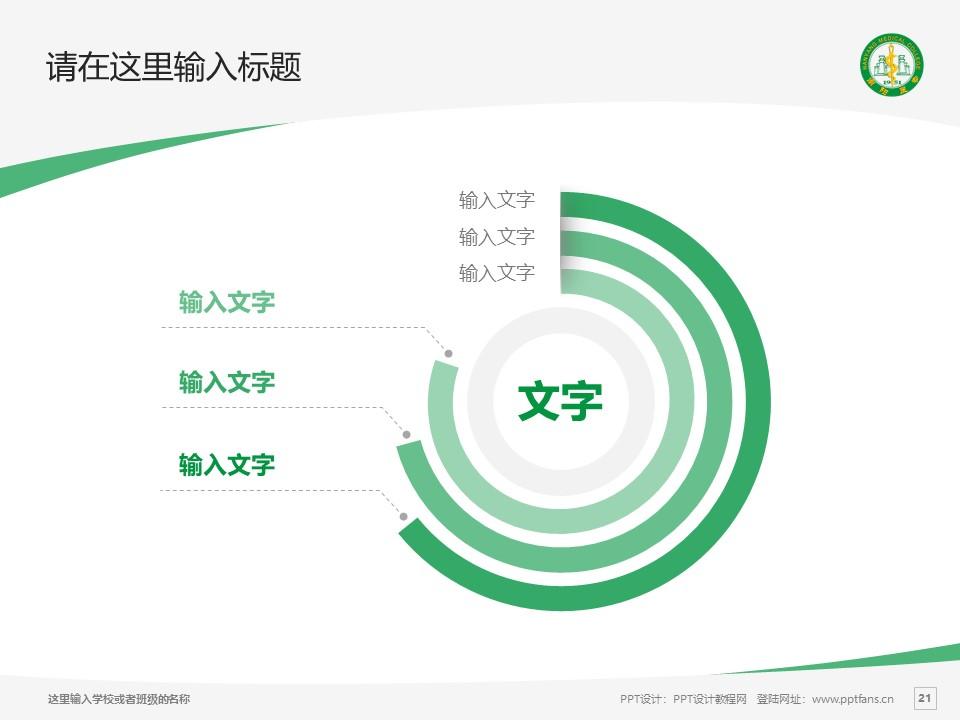 南阳医学高等专科学校PPT模板下载_幻灯片预览图21