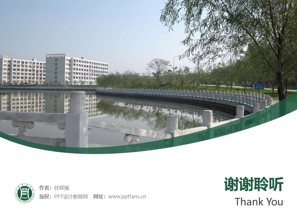 信阳农林学院PPT模板下载_幻灯片预览图32