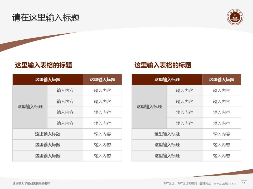 广西医科大学PPT模板下载_幻灯片预览图11