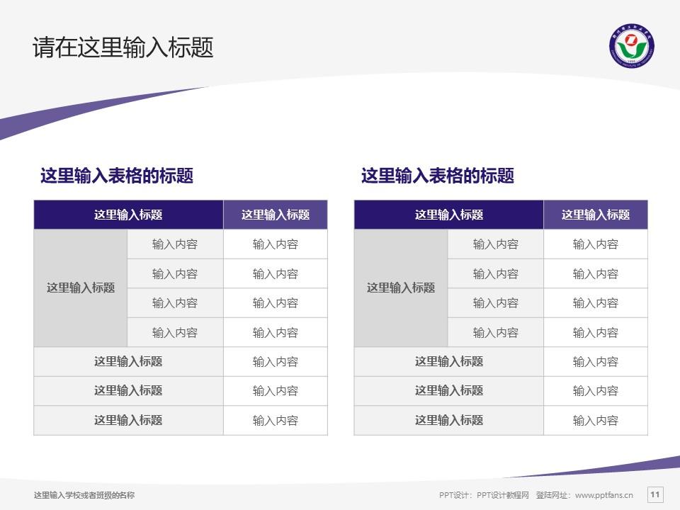 郑州理工职业学院PPT模板下载_幻灯片预览图11