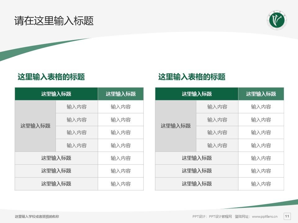 许昌学院PPT模板下载_幻灯片预览图11