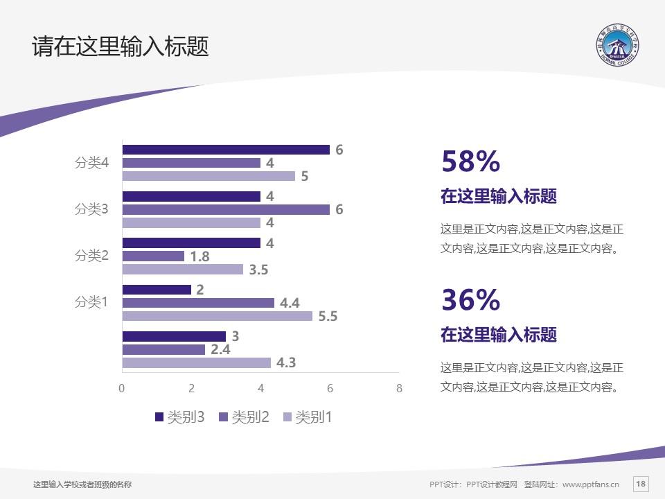 桂林师范高等专科学校PPT模板下载_幻灯片预览图18