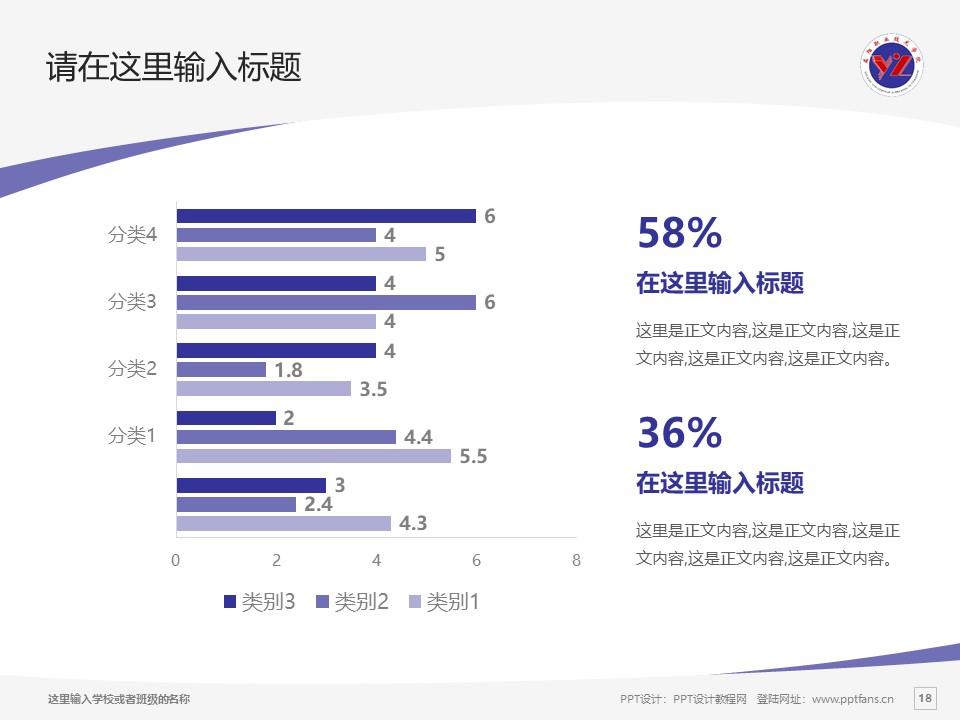 益阳职业技术学院PPT模板下载_幻灯片预览图18