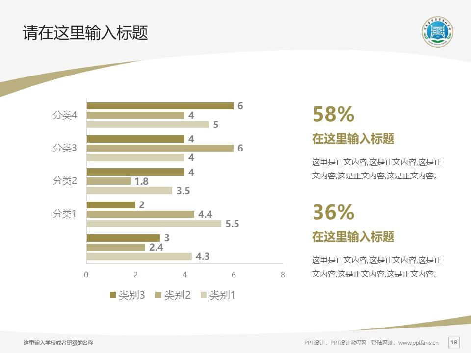 河南医学高等专科学校PPT模板下载_幻灯片预览图18