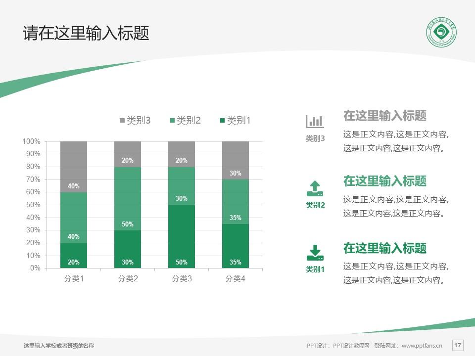 湖南食品药品职业学院PPT模板下载_幻灯片预览图17