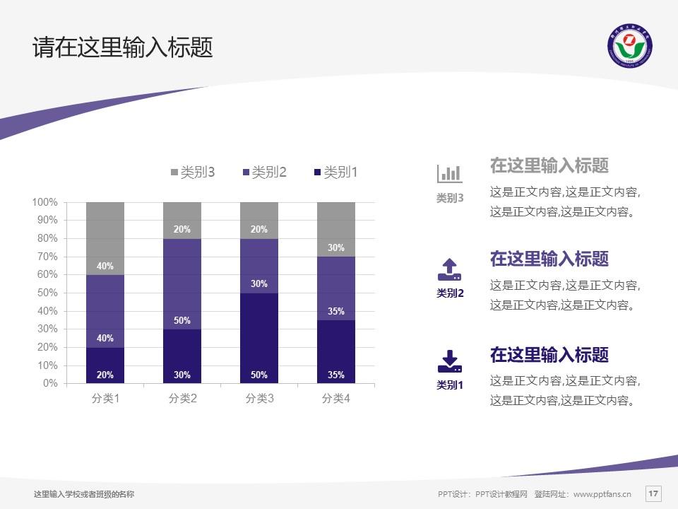 郑州理工职业学院PPT模板下载_幻灯片预览图17