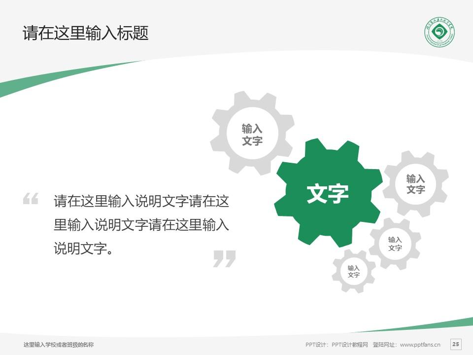 湖南食品药品职业学院PPT模板下载_幻灯片预览图25