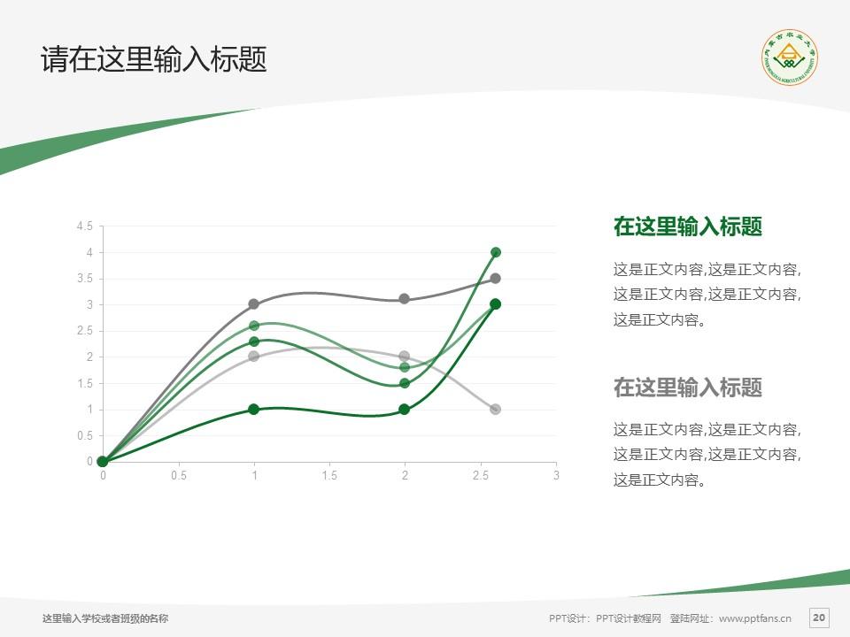 内蒙古农业大学PPT模板下载_幻灯片预览图20