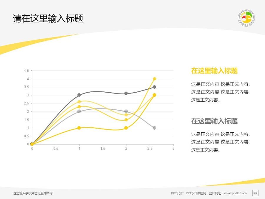 广西艺术学院PPT模板下载_幻灯片预览图20