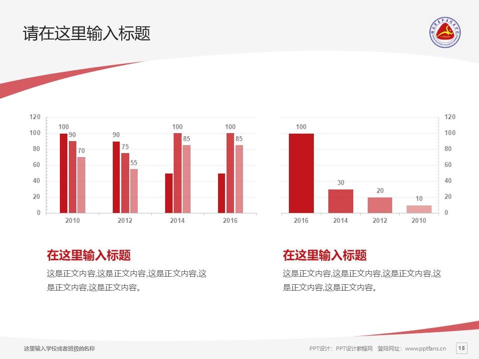 湖南商务职业技术学院PPT模板下载_幻灯片预览图15