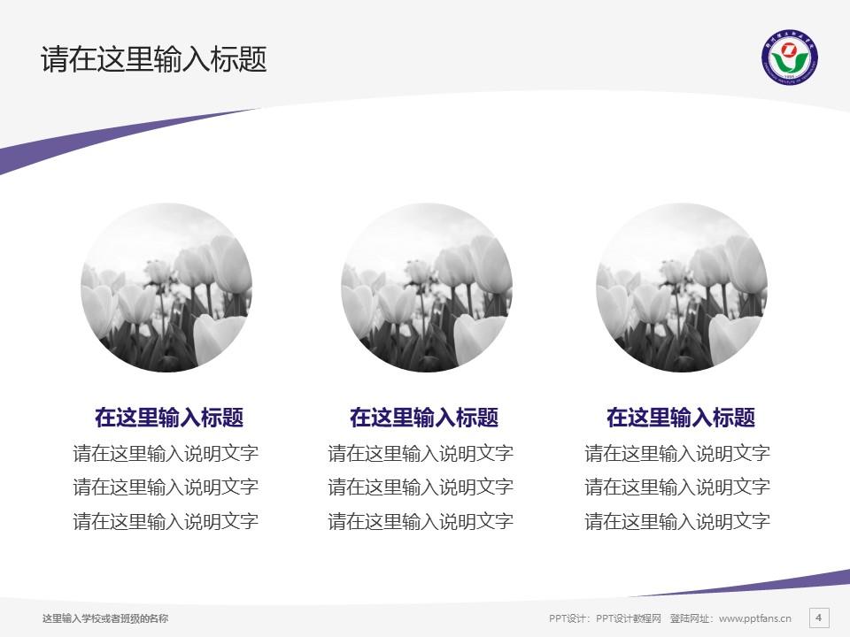郑州理工职业学院PPT模板下载_幻灯片预览图4