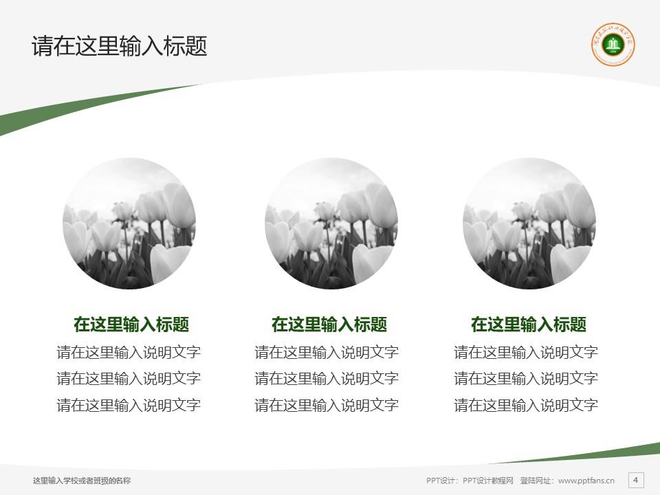 河南建筑职业技术学院PPT模板下载_幻灯片预览图4