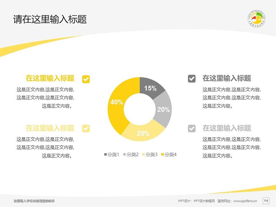 广西艺术学院PPT模板下载_幻灯片预览图14