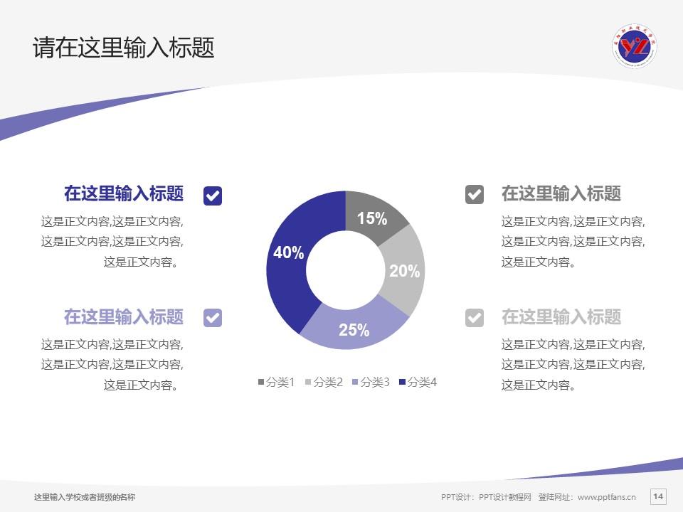 益阳职业技术学院PPT模板下载_幻灯片预览图14