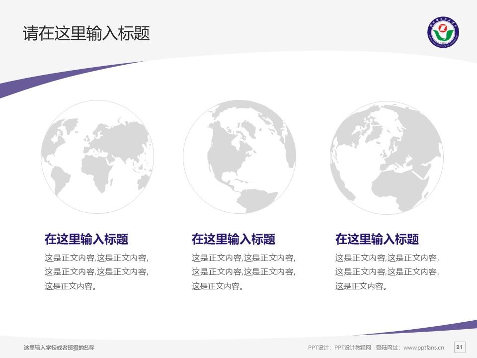郑州理工职业学院PPT模板下载_幻灯片预览图32