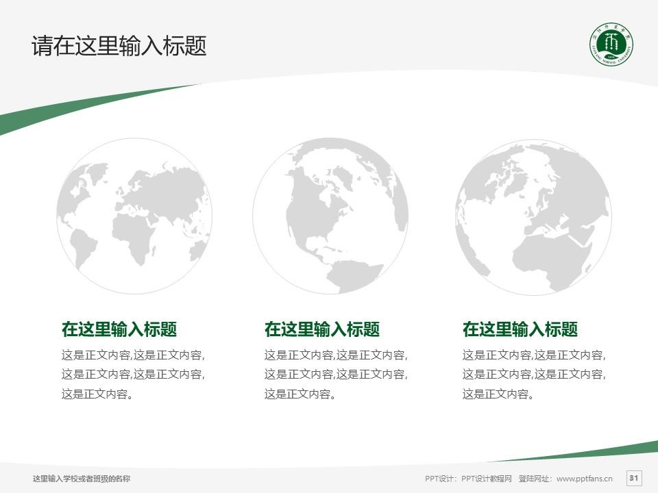 洛阳师范学院PPT模板下载_幻灯片预览图31