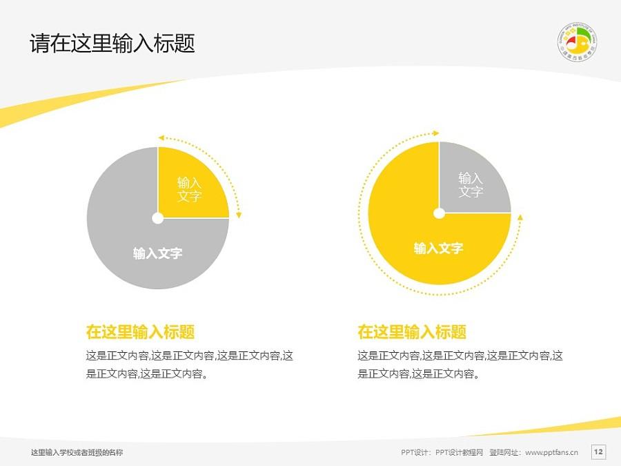 广西艺术学院PPT模板下载_幻灯片预览图12
