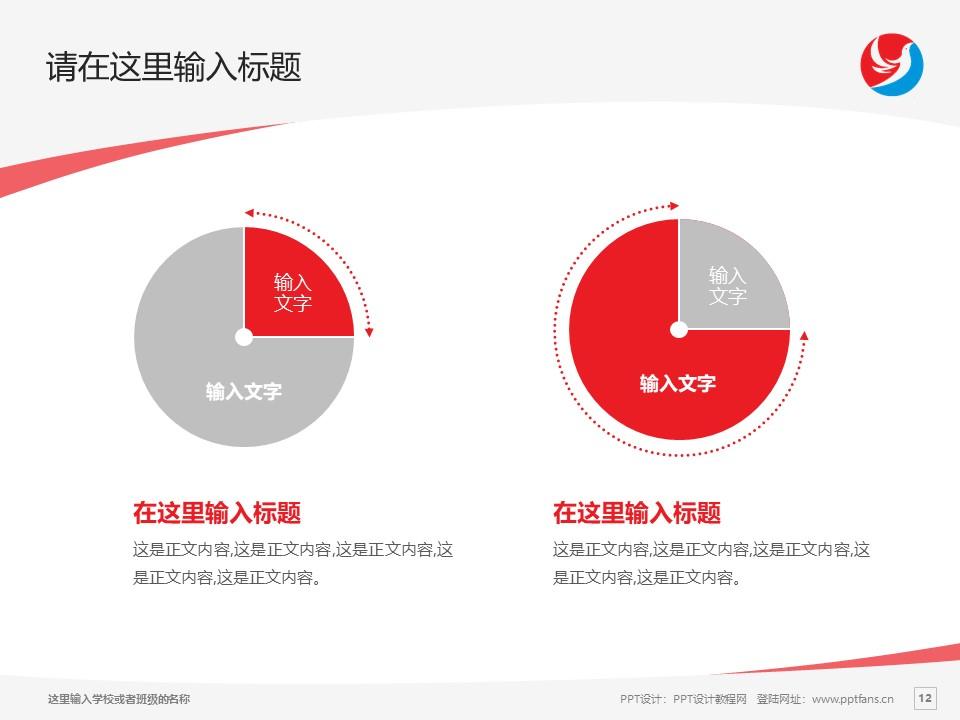 南阳职业学院PPT模板下载_幻灯片预览图12