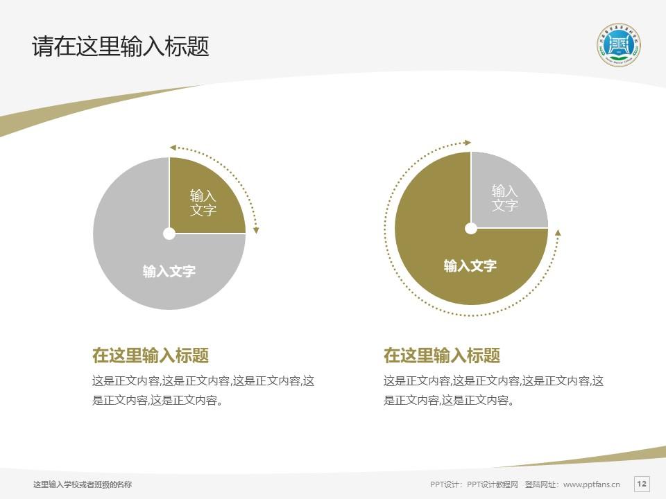 河南医学高等专科学校PPT模板下载_幻灯片预览图12