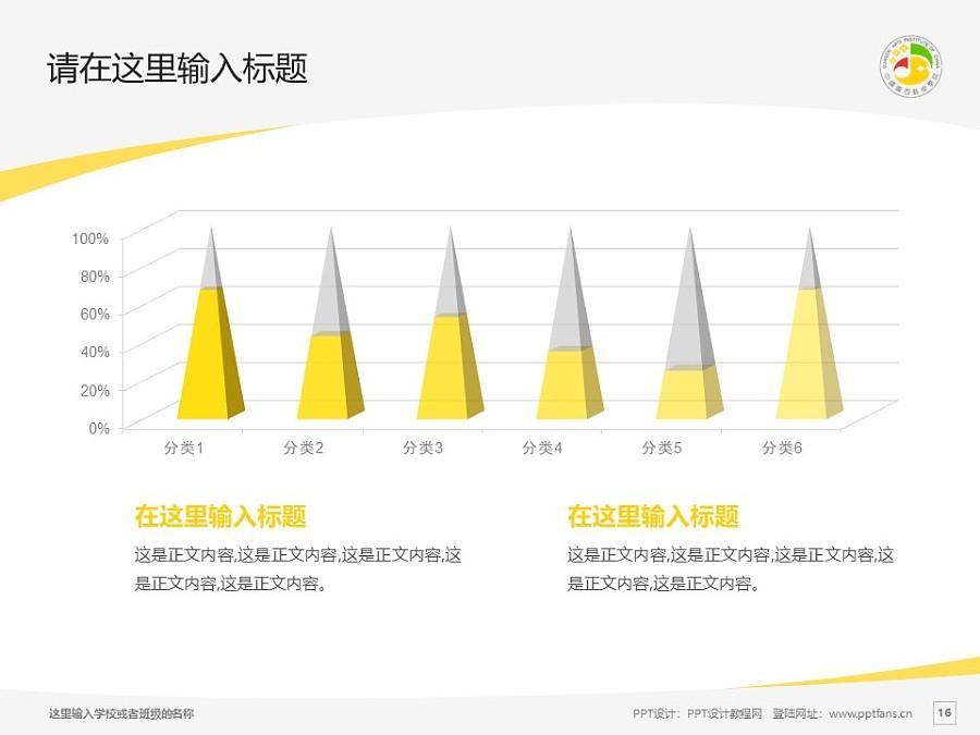 广西艺术学院PPT模板下载_幻灯片预览图16