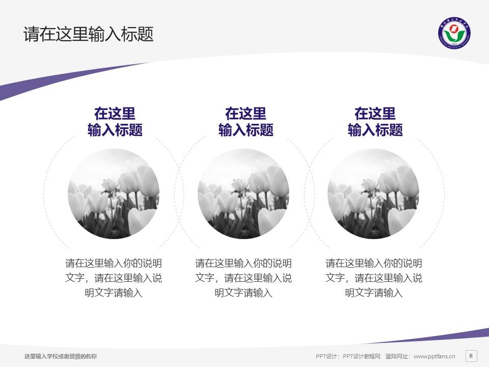郑州理工职业学院PPT模板下载_幻灯片预览图8