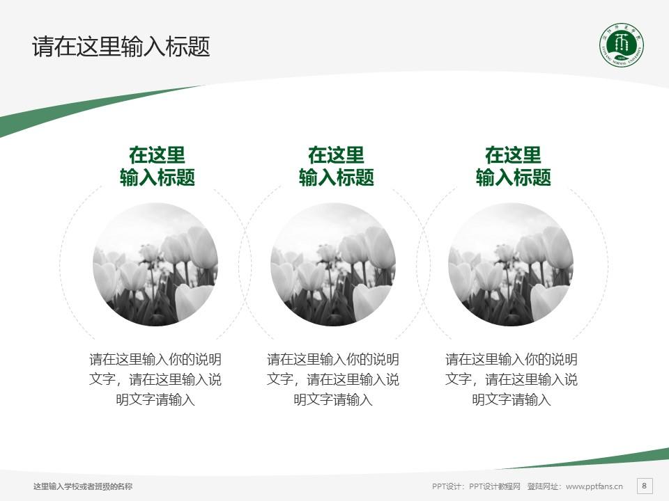 洛阳师范学院PPT模板下载_幻灯片预览图8