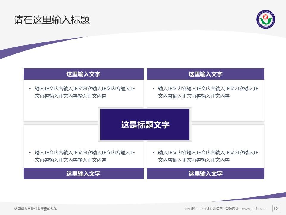 郑州理工职业学院PPT模板下载_幻灯片预览图10