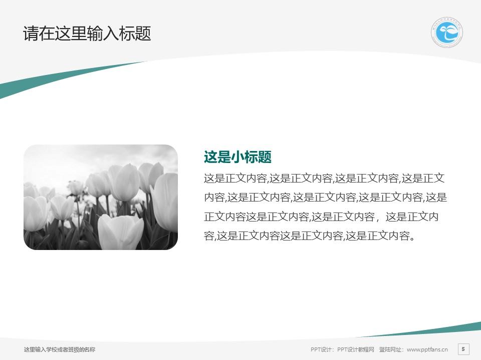 郑州幼儿师范高等专科学校PPT模板下载_幻灯片预览图13
