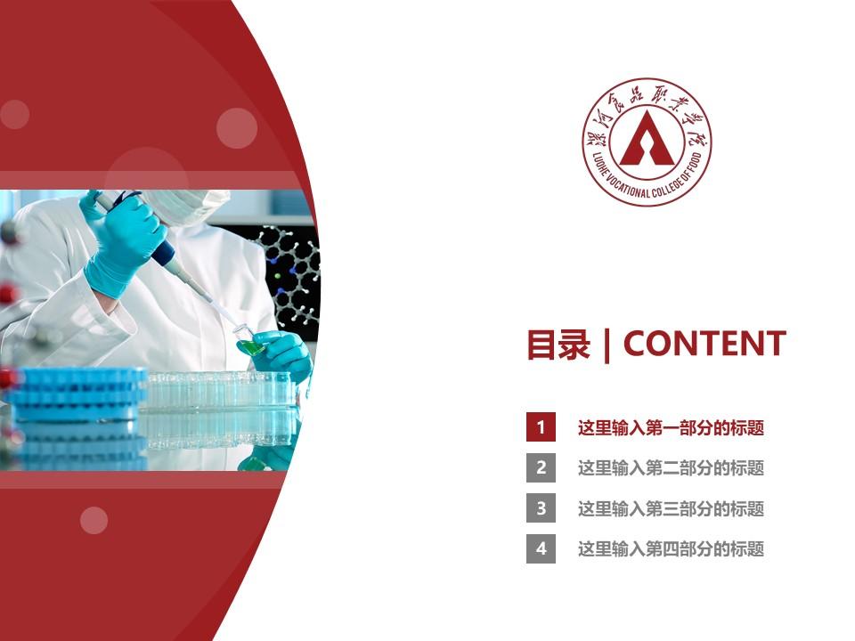 漯河食品职业学院PPT模板下载_幻灯片预览图3