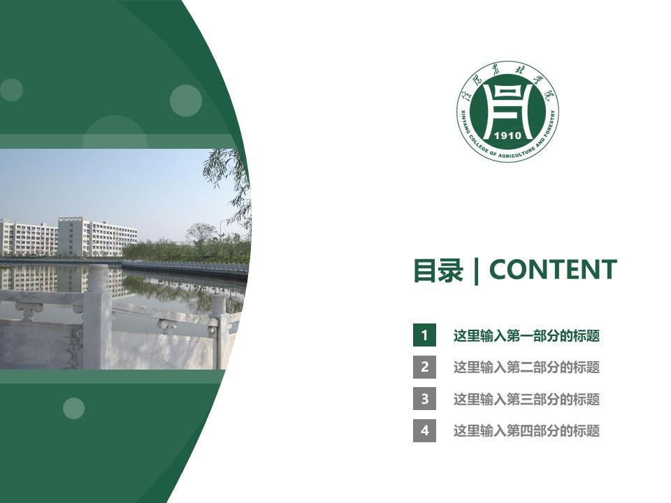 信阳农林学院PPT模板下载_幻灯片预览图3