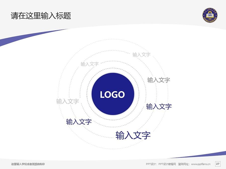 云南商務職業學院PPT模板下載_幻燈片預覽圖27