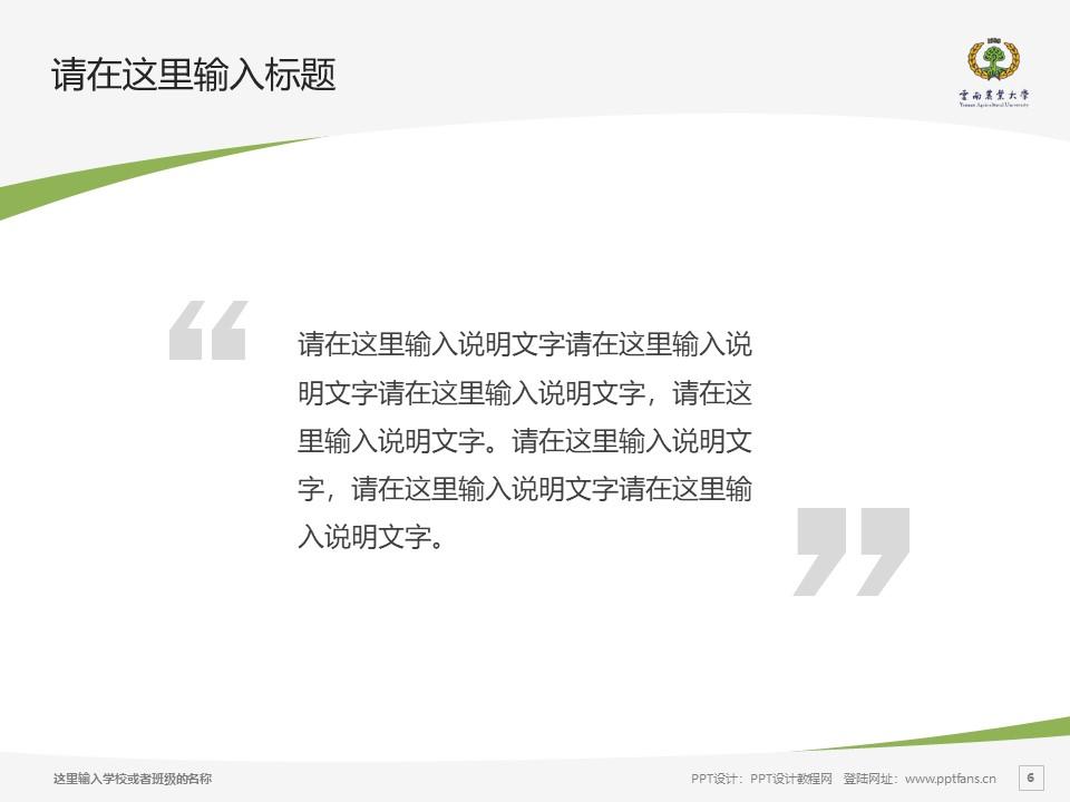云南农业大学热带作物学院PPT模板下载_幻灯片预览图6