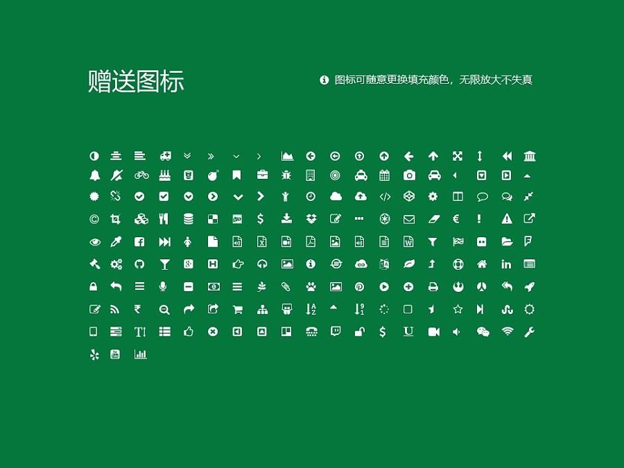 四川师范大学PPT模板_幻灯片预览图35