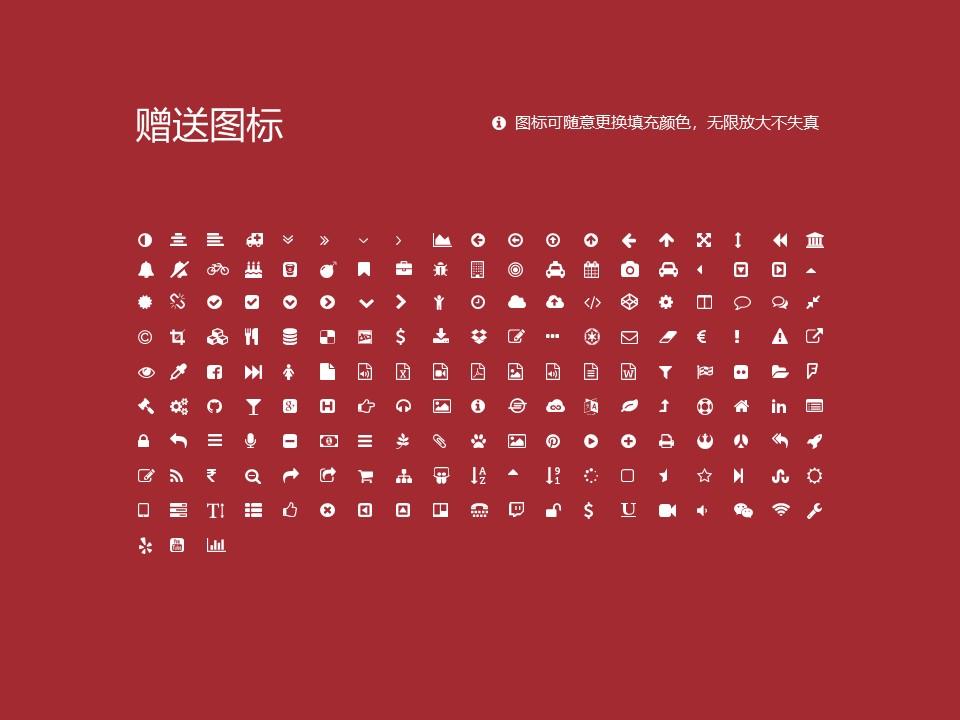 云南经济管理学院PPT模板下载_幻灯片预览图35
