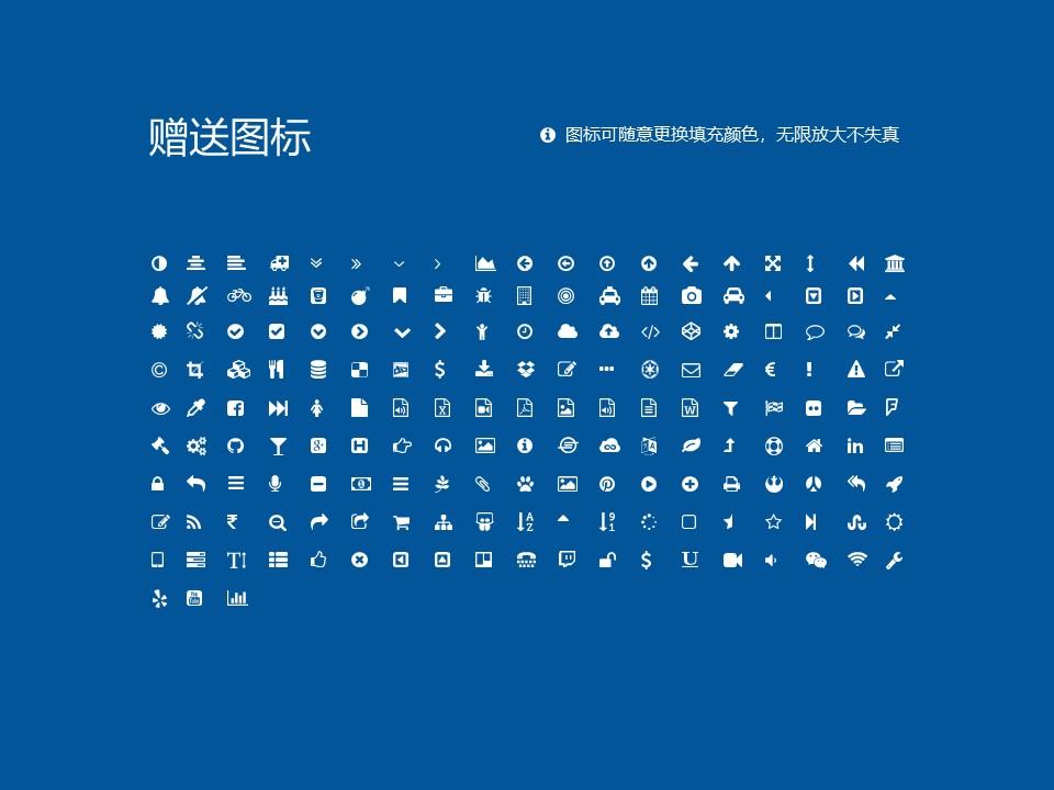湖南电子科技职业学院PPT模板下载_幻灯片预览图34