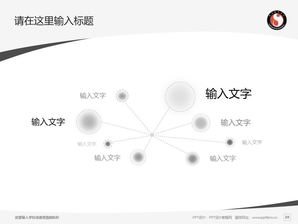 云南艺术学院PPT模板下载_幻灯片预览图28
