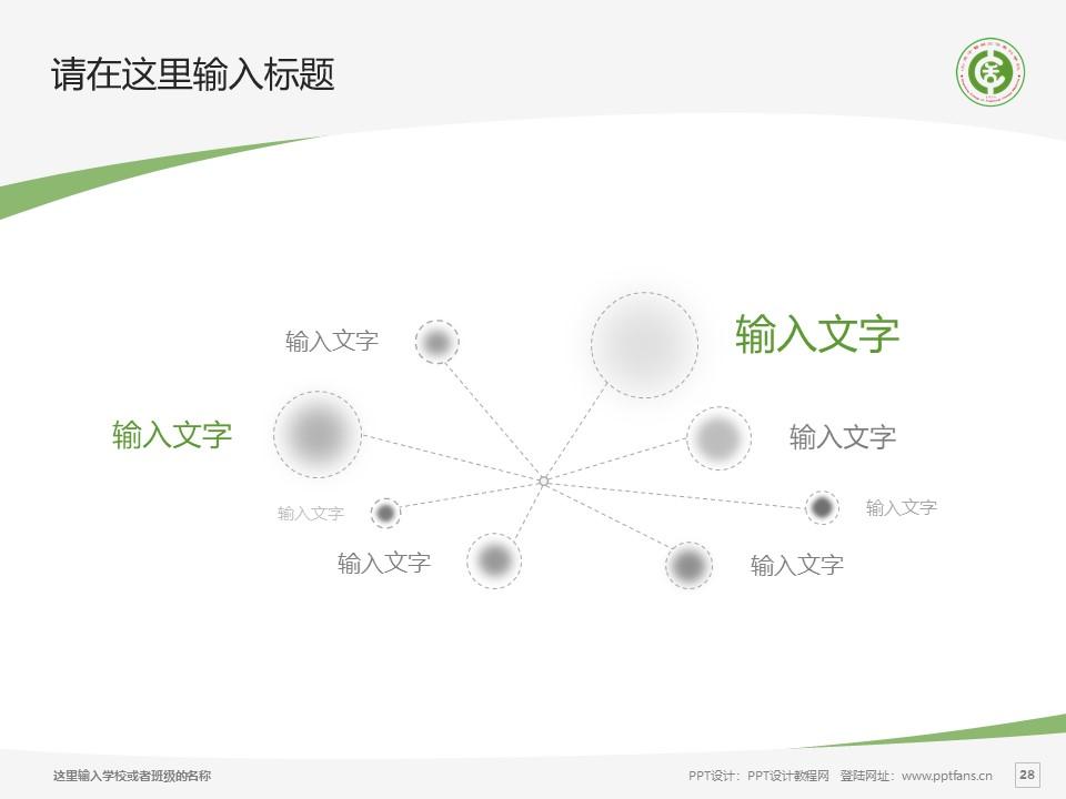 山东中医药高等专科学校PPT模板下载_幻灯片预览图28