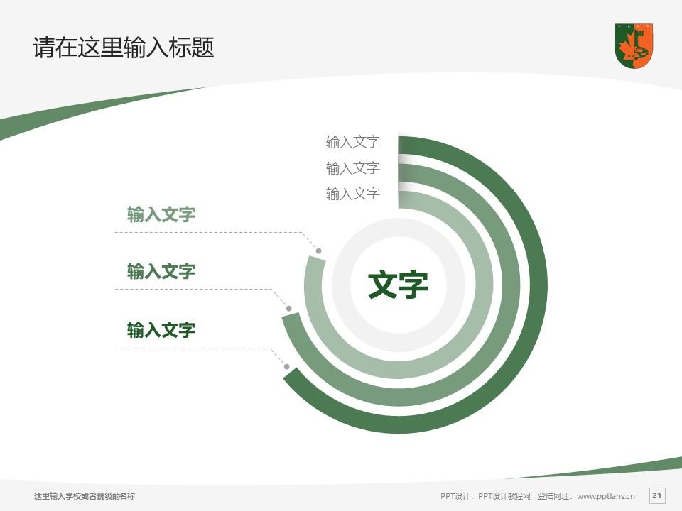 江西枫林涉外经贸职业学院PPT模板下载_幻灯片预览图21