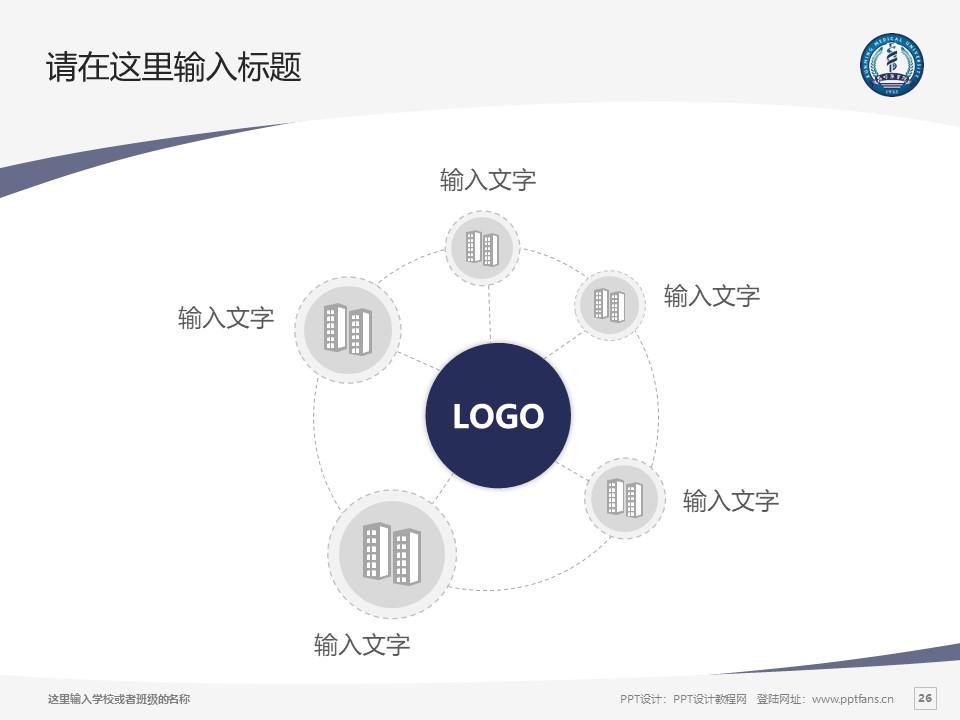 昆明医科大学PPT模板下载_幻灯片预览图26