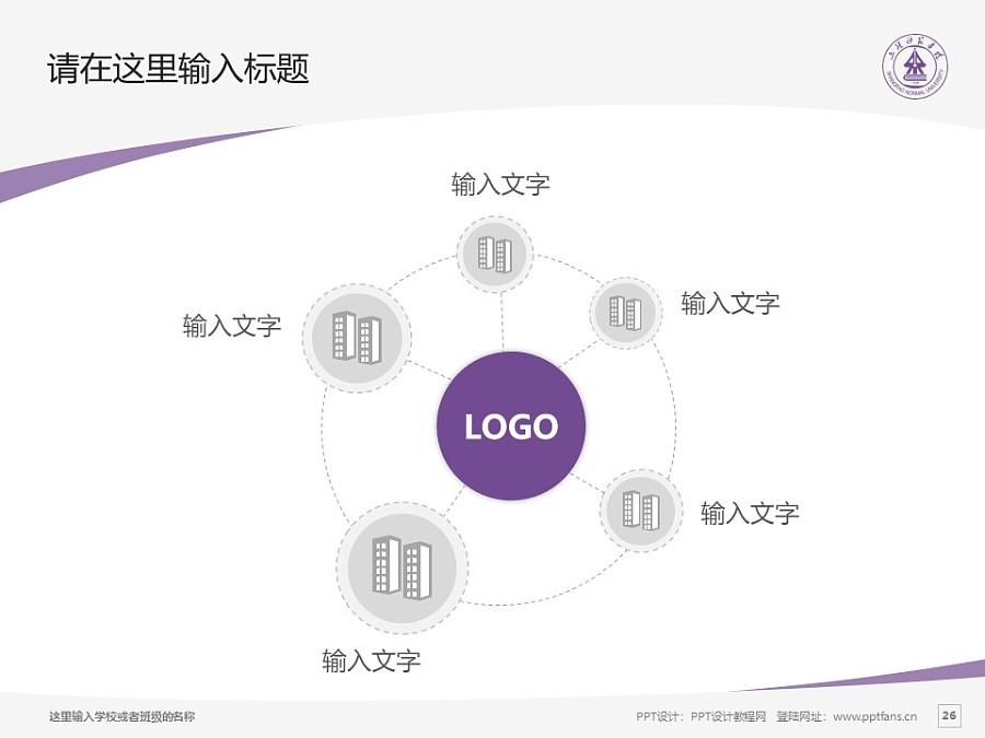上饶师范学院PPT模板下载_幻灯片预览图26