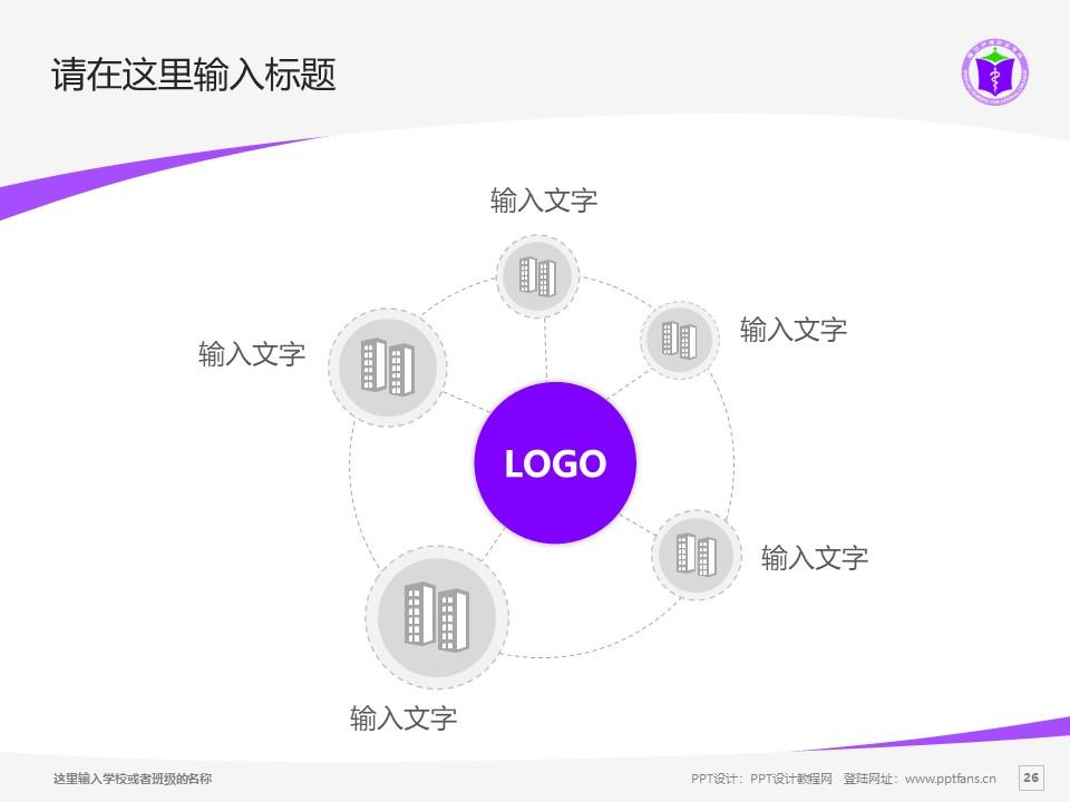 潍坊护理职业学院PPT模板下载_幻灯片预览图26