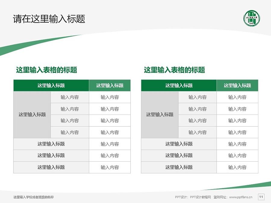 四川师范大学PPT模板_幻灯片预览图11