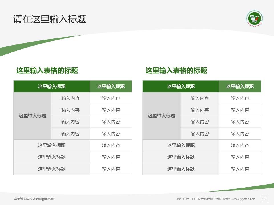 江西应用技术职业学院PPT模板下载_幻灯片预览图11
