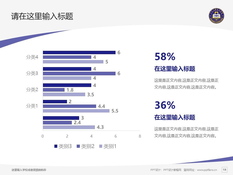 云南商务职业学院PPT模板下载_幻灯片预览图18