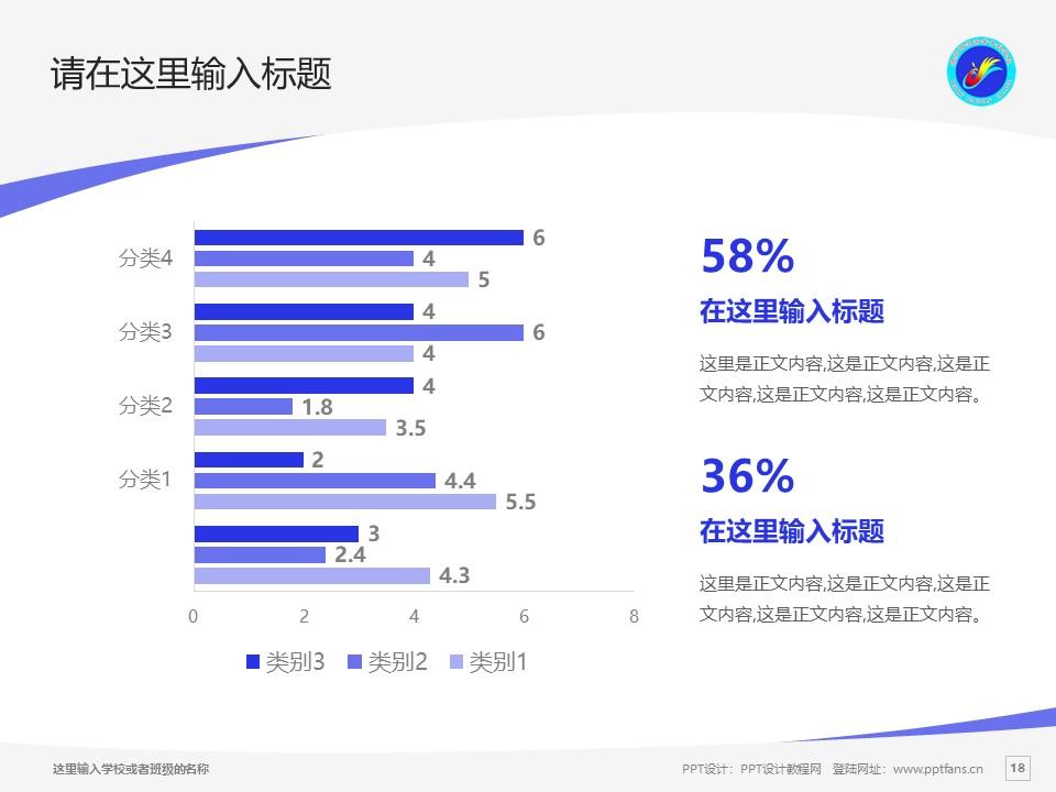 德宏师范高等专科学校PPT模板下载_幻灯片预览图18